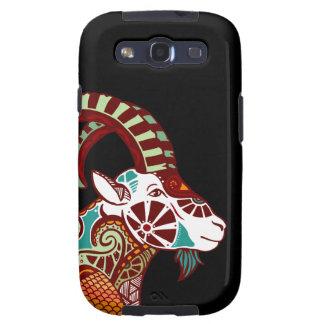 Capricorn Zodiac - Ibex Samsung Galaxy S3 Cases