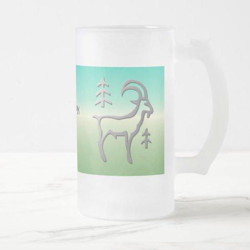 frosty beer mugs