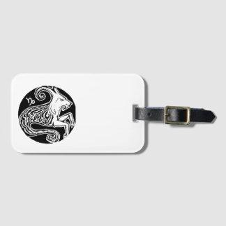 Capricorn - Zodiac Luggage tag