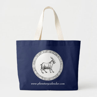 Capricorn Zodiac on Dark Bag