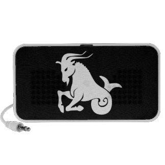 Capricorn Zodiac Pictogram Doodle Speaker