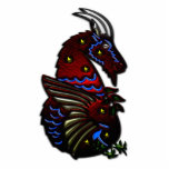 Capricorn Zodiac Sign Acrylic Cut Out