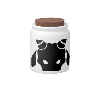 Capricorn Zodiac Sign Candy Jar