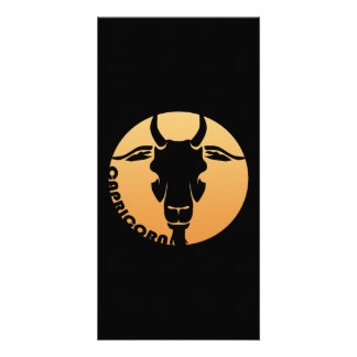Capricorn Zodiac Sign Card