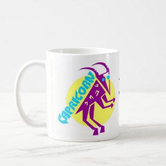 Capricorn Zodiac Sign Classic White Coffee Mug
