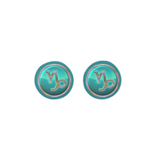 Capricorn Zodiac Sign Earrings