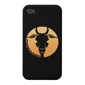 Capricorn Zodiac Sign iPhone 4 Cases