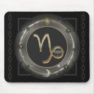 Capricorn Zodiac Sign Mouse Pad