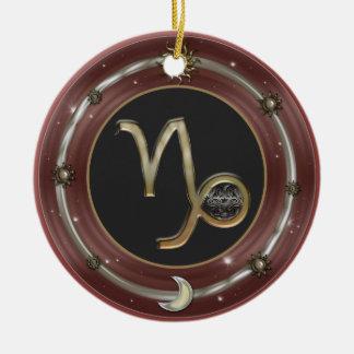 Capricorn Zodiac Sign Ornaments