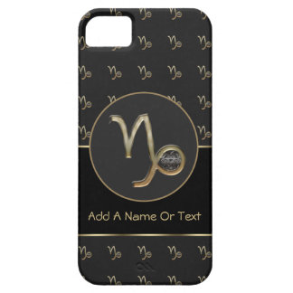 Capricorn Zodiac Sign Personalized iPhone 5 Cover