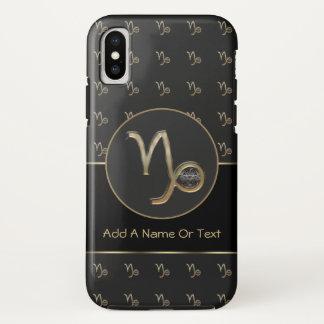 Capricorn Zodiac Sign Personalized iPhone X Case