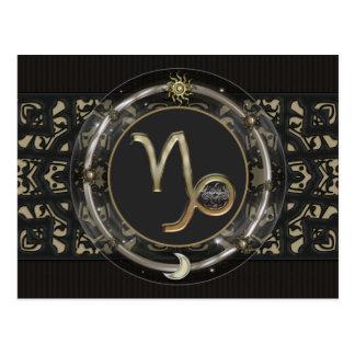 Capricorn Zodiac Sign Postcard