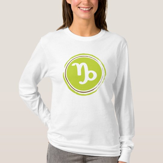 Capricorn Zodiac Sign T-Shirt