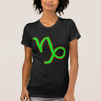 Capricorn Zodiac Sign Tee Shirt