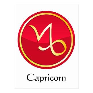 Capricorn - Zodiac Signs Postcard