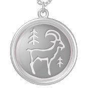 Capricorn Zodiac Star Sign Premium Silver necklaces