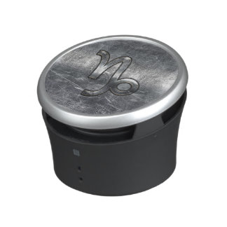 Capricorn Zodiac Symbol Grunge Distressed Style Speaker