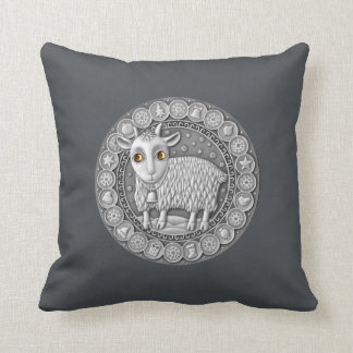 "Capricorn Zodiac Throw Pillow 16"" x 16"""