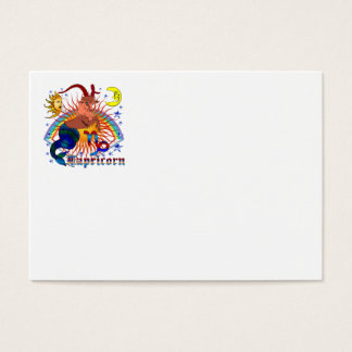 Capricorn-Zodiac-V-1 Business Card