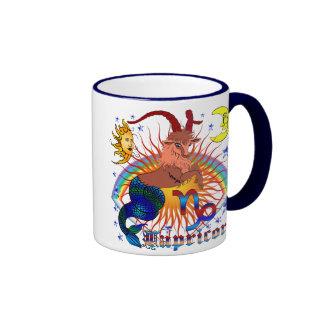 Capricorn-Zodiac-V-1 Ringer Coffee Mug