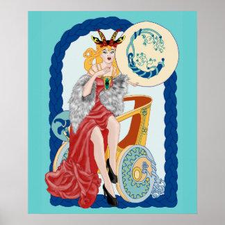 Capricornio céltico póster
