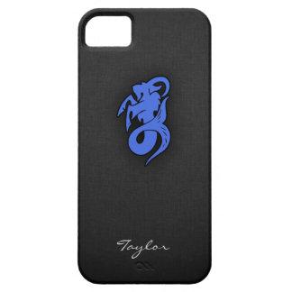 Capricornio del azul real iPhone 5 cárcasas