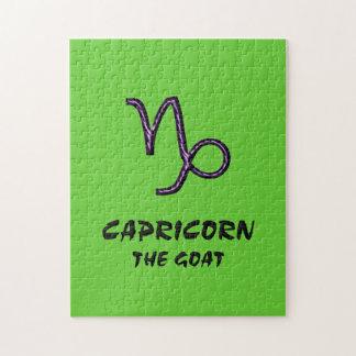Capricornio el rompecabezas de la cabra