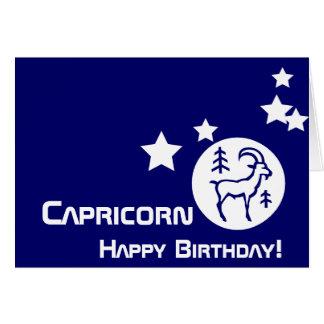 ¡Capricornio, feliz cumpleaños! - Personalizar Felicitacion