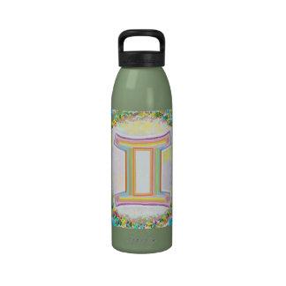 Capricornio, géminis, cáncer - astrología del zodi botellas de agua reutilizables