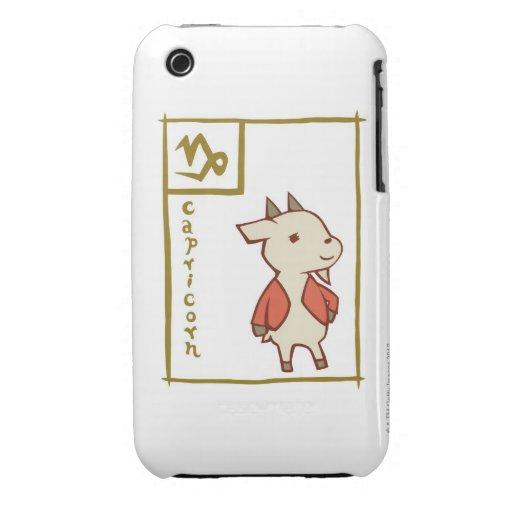 Capricornio iPhone 3 Case-Mate Protectores