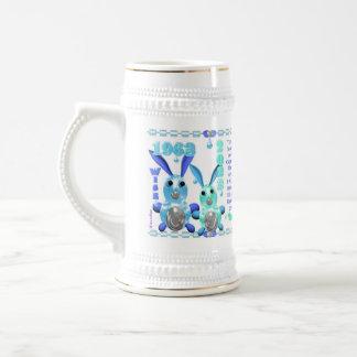 Capricornio llevado zodiaco del conejo del agua de tazas de café