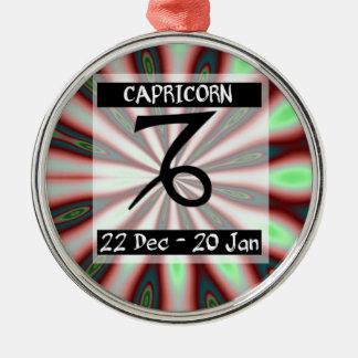 Capricórnio Metal Ornament
