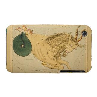 Capricornio - muestra del vintage de la imagen del funda para iPhone 3