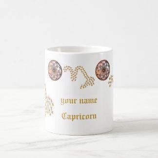 Capricornio protagonizado de la taza