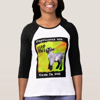 Capricorns are HOT shirt