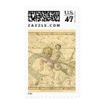 Capricornus and Aquarius Stamp