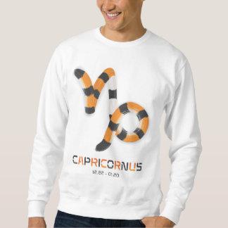 """Capricornus in Tiger's Style"". Pullover Sweatshirt"