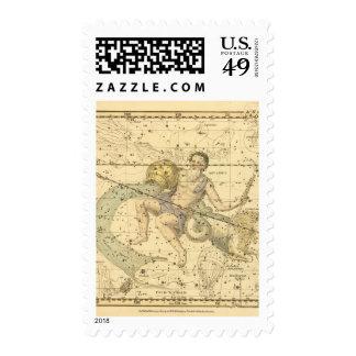 Capricornus y acuario sellos