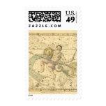 Capricornus y acuario timbres postales