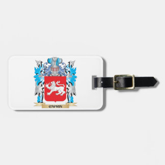 Caprin Coat of Arms - Family Crest Tag For Luggage