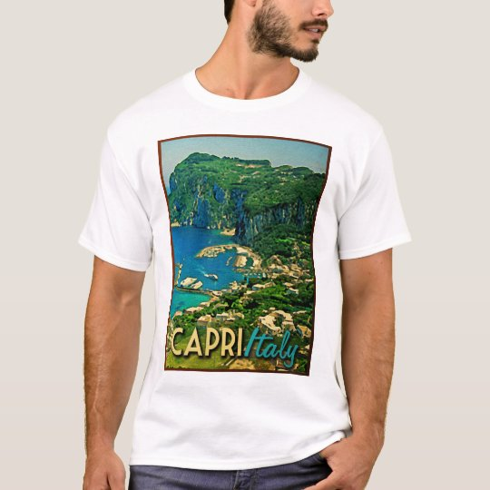 Capris Italy Vintage Travel T-Shirt