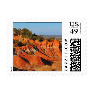 Caprock Canyons Stamps