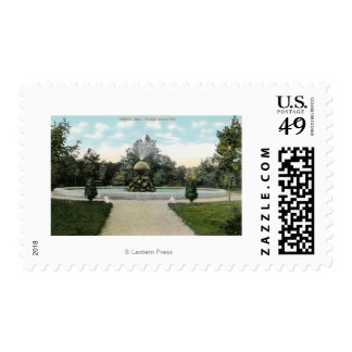 Capron Park View of the Fountain Stamps