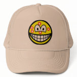 Acne smile   caps_and_hats