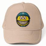 UN soldier smile   caps_and_hats