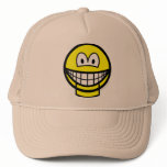 Jaw dropped smile   caps_and_hats