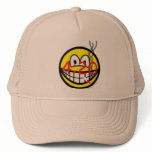 Stoner 4:20 smile   caps_and_hats