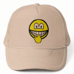 Finger sucking smile   caps_and_hats