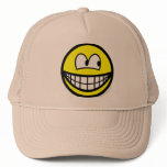 Looking right smile   caps_and_hats