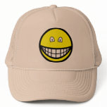 Tiny eyed smile   caps_and_hats